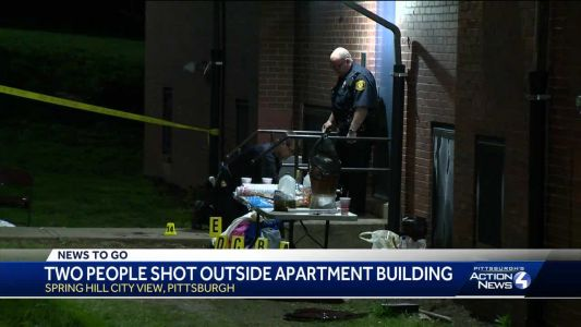 2 shot outside apartment building in Spring Hill