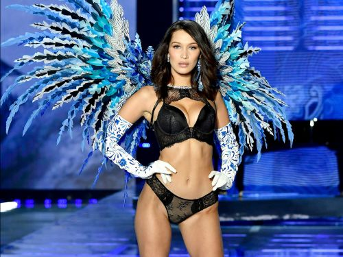 Bella Hadid revealed that she 'never felt powerful' walking the Victoria's Secret runway shows