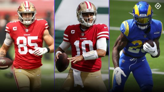 Fantasy Injury Updates: George Kittle, Jimmy Garoppolo, Cam Akers impact Week 3 start 'em, sit 'em decisions