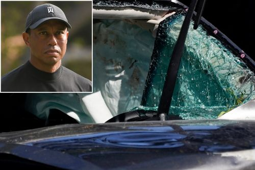 Tiger Woods reportedly helped by 'hero' neighbor after California car crash