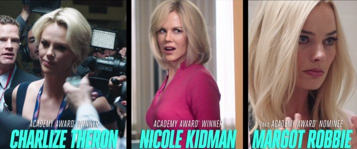 The new trailer for 'Bombshell' shows more spitting-image casting choices dramatizing the fall of Roger Ailes