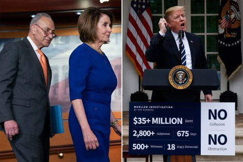Chuck Schumer and Nancy Pelosi's faux show of rage
