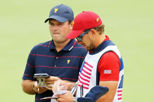 Patrick Reed's caddie bounced from Presidents Cup for getting physical with fan