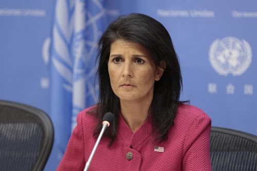 Haley denies Giuliani's claim of Iran 'revolution'
