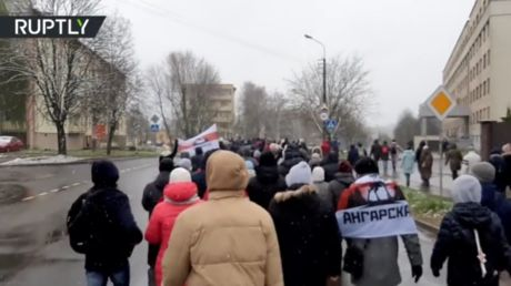 Protestors and police clash in Belarus days after embattled President Lukashenko promises he'll stand down. but not yet