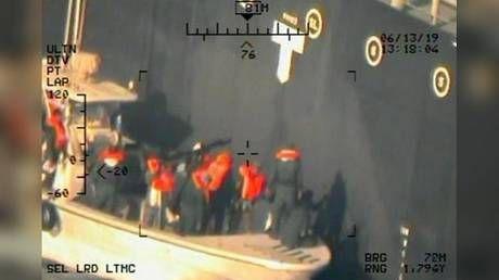 Pentagon releases new pictures of the Oman Gulf tanker attack, says they 'prove' Iran's guilt