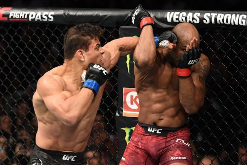 Paulo Costa out-pummels Yoel Romero in an extraordinary, compelling, brutal battle between 2 fighters who looked like Greek Gods