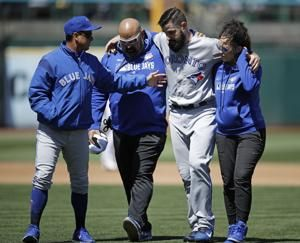 Blue Jays pitcher Shoemaker has torn ACL, out for year