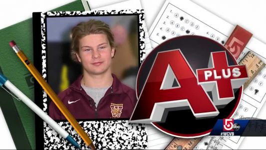 A Plus: Weymouth High School's Andrew Schuhwerk