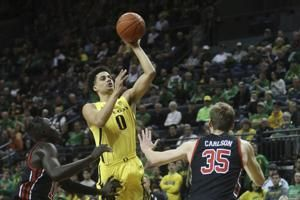 Pritchard scores 25 as No. 17 Oregon beats Utah 80-62
