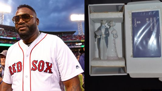 Check out the best items from David Ortiz's very weird estate sale