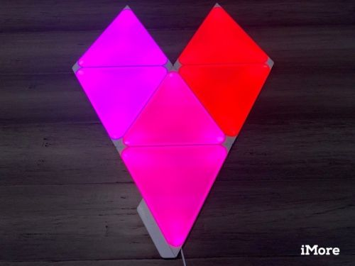 Review: Nanoleaf's Shapes are modular, colorful, and come in two sizes