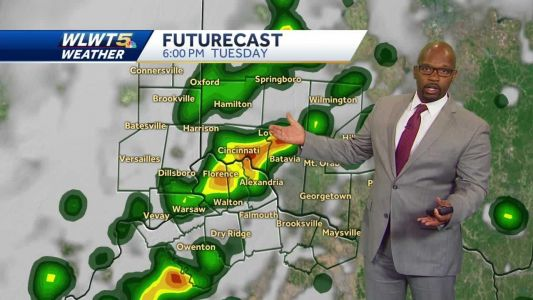 Heat Then Storms Tuesday