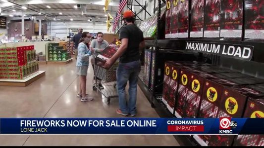 Area fireworks store trying online business for social distancing