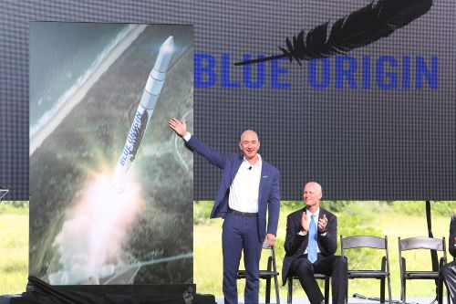 Blue Origin teams with Boeing to create 'business park' in space