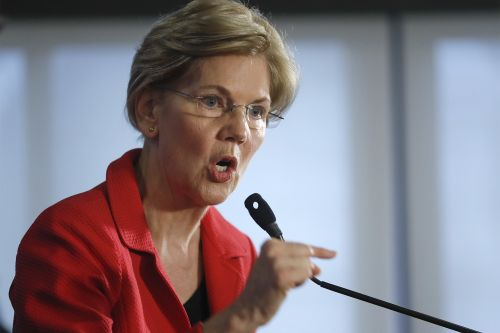 Elizabeth Warren unveils anti-corruption plan, takes aim at Trump