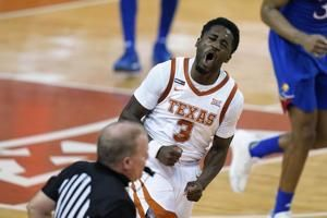 Ramey, No. 14 Texas rally for OT win over No. 17 Kansas