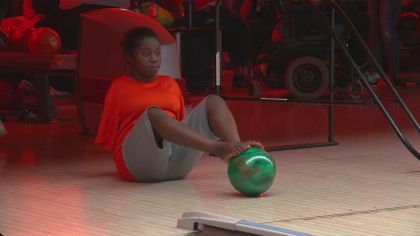 St. Paul Teen Bowls Over Barriers