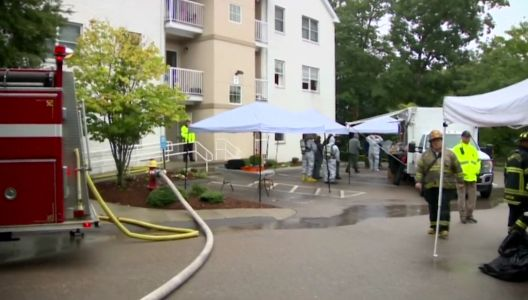 Fire in Mansfield apartment triggers hazmat response