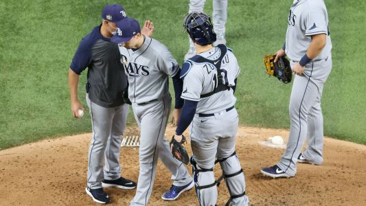 Blake Snell 'upset,' Dodgers players thrilled over Rays' fateful decision to pull ace from Game 6