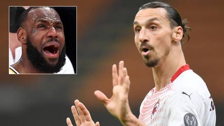'Athletes unite the world, politics divide it': Football megastar Zlatan reignites feud by telling LeBron James to stick to NBA