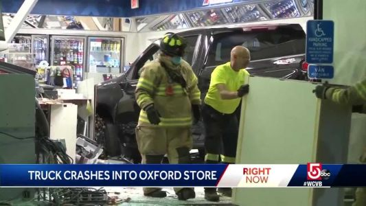 Drunken driver crashes into convenience store, police say