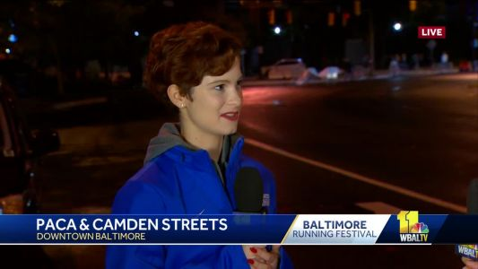 Teen running Baltimore Marathon raises $56K in honor of dad