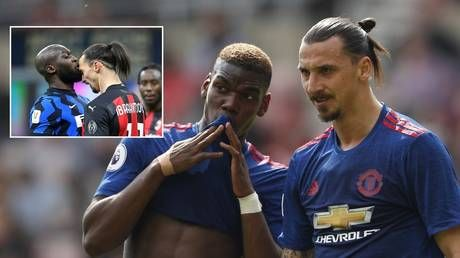 'He loves me too much': Pogba says Zlatan isn't racist after storm over 'voodoo' comments to Lukaku