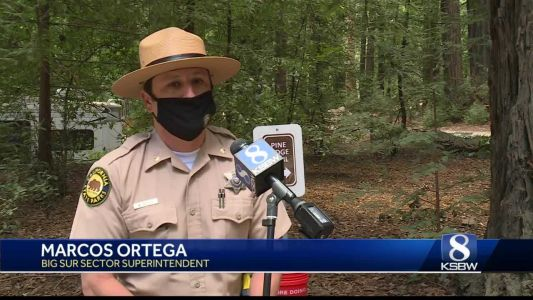 Pine Ridge Trail in Big Sur reopened Tuesday