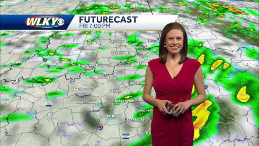 Scattered Showers/Storms Possible Tonight