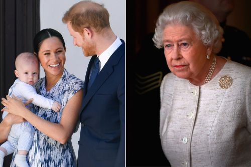 Queen Elizabeth 'very sad' about 'barely' seeing baby Archie