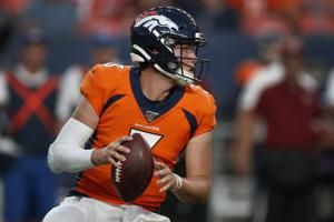 Injured reserve is a possibility for Broncos rookie QB