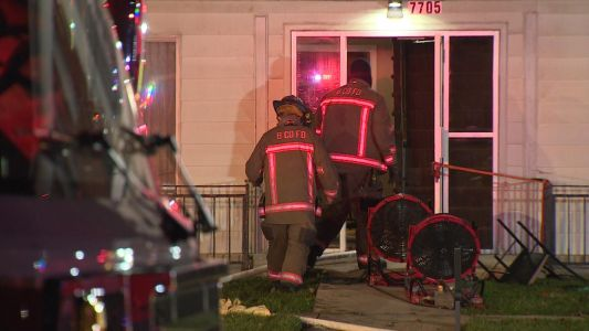 Man rescued from Parkville apartment fire taken to Shock Trauma
