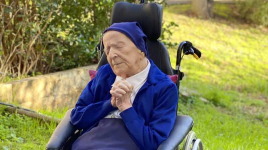 117-year-old nun who beat COVID to mark birthday with champagne, red wine and Mass