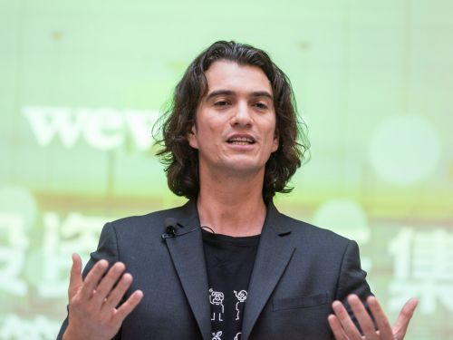 It took a day for WeWork's CEO to recover from the shock of a $16 billion SoftBank investment falling apart
