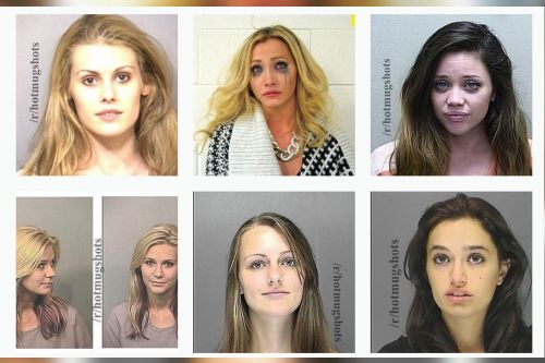 These ladies' criminally hot mugshots are going viral on Twitter