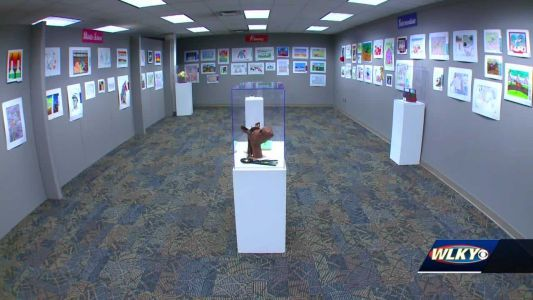 Take a look inside the Derby Museum's 'Horsing Around With Art' exhibit