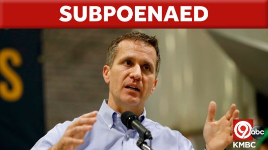 Greitens subpeonaed to testify before Missouri House committee
