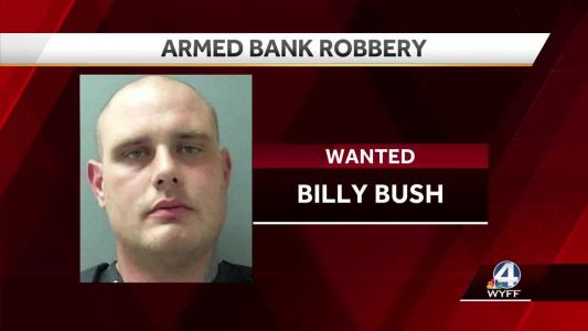 Upstate police searching for bank robbery suspect, considered armed and dangerous