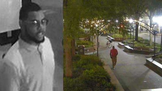 WANTED: Photos show suspected gunman who shot innocent bystander at downtown park