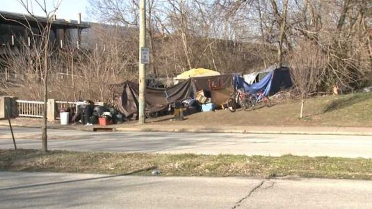 New homeless camp causing concerns in Irish Hill Park