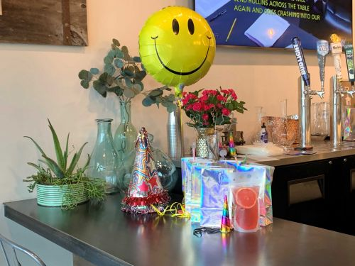101 Wine Press in Prunedale brightens people's day with a 'Happy Gram'