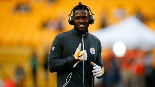 Steelers WR Antonio Brown working out with Kyler Murray