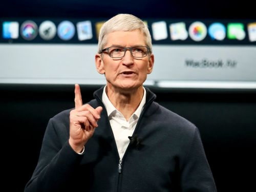 Apple CEO Tim Cook on privacy: 'we have to admit when the free market is not working'