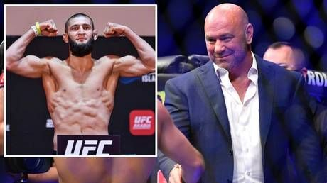 'It ain't easy getting people into the country': Dana White cites travel issues for Khamzat Chimaev's absence from UFC 252