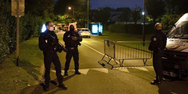 A Paris teacher who had shown his class cartoons of the Prophet Muhammad was beheaded in 'Islamist terrorist attack'