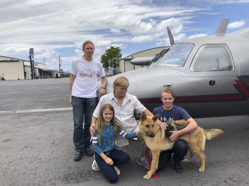 Dog stolen 2 years ago reunited with family after being found nearly 2,000 miles away