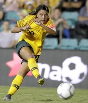 Sam Kerr focused on leading Red Stars to NWSL title