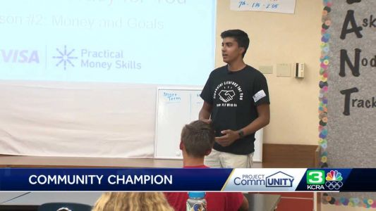 Project CommUNITY: El Dorado Hills teen creates financial literacy program for youth