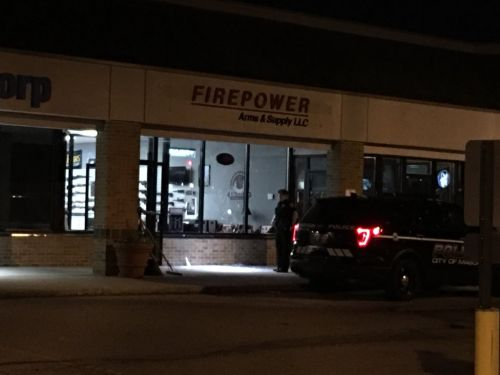 Several guns stolen from Mason gun store​